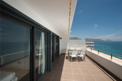 En balkong eller terrasse på Apartamentos Calpestabili