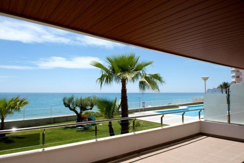 Un balcón o terraza de Apartamentos Calpestabili