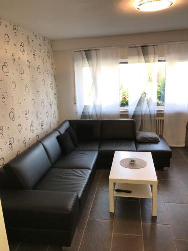 Ein Sitzbereich in der Unterkunft Apartment Lori