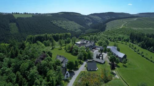 A bird's-eye view of Berghotel Hoher Knochen