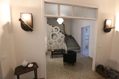 Uma área de estar em B&B Corso Italia 58