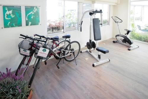 永康劍橋大飯店健身房和/或健身器材