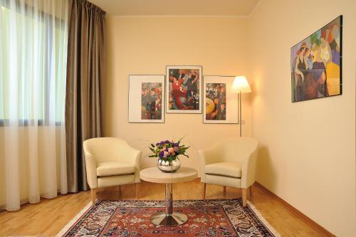 Гостиная зона в Hotel Olimpia