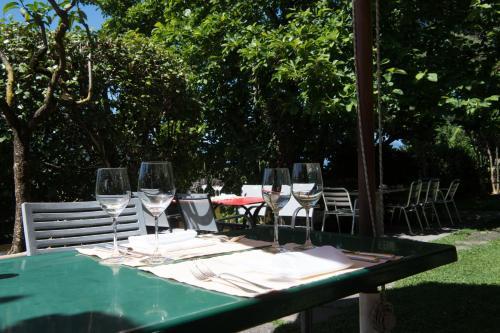 Ein Restaurant oder anderes Speiselokal in der Unterkunft Osteria Locanda Brack