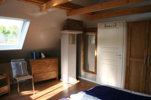 Postel nebo postele na pokoji v ubytování Gundies Home No. 15 GmbH