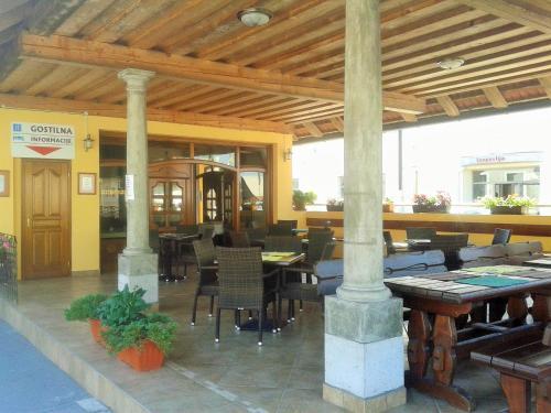 Restavracija oz. druge možnosti za prehrano v nastanitvi Guesthouse Jersin