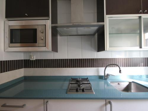 A kitchen or kitchenette at Apartment Solmar