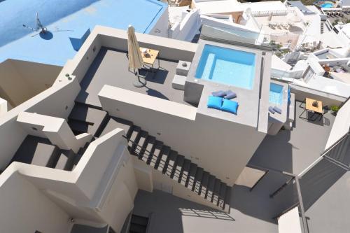 The floor plan of Aria Suites & Villas