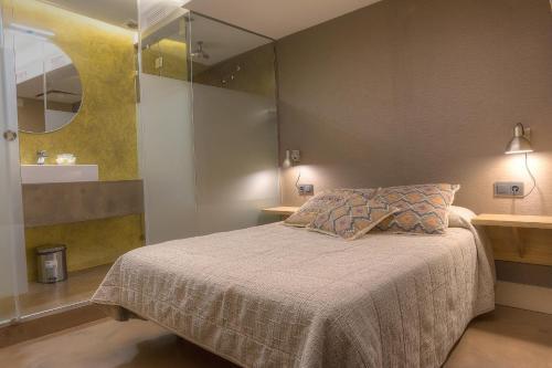 Cama o camas de una habitación en Los Patios