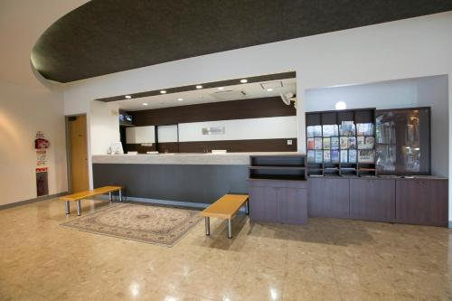 The lobby or reception area at Ise City Hotel Annex