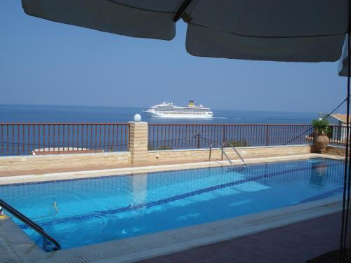 The swimming pool at or near Hotel Anastazia