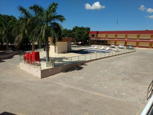 The swimming pool at or near Hotel Serra do Rio