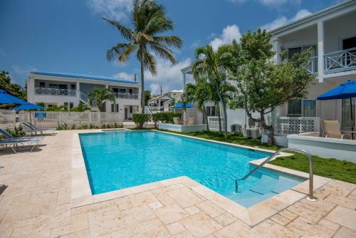 The swimming pool at or near Shoal Bay Villas