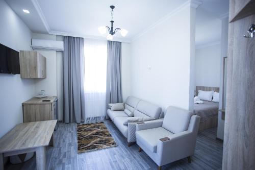 Гостиная зона в Hotel Garanti