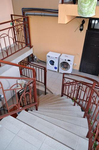 Балкон или терраса в Guest House Liana