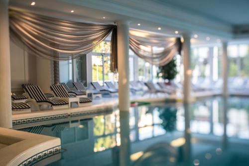 The swimming pool at or close to Abano Grand Hotel
