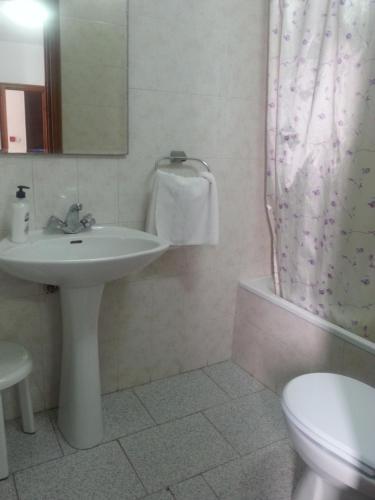 Un baño de Pensión Ciudad Navarro Ramos