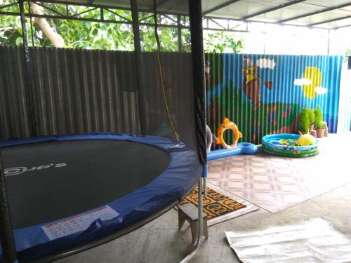 Children's play area at Guest House Irina