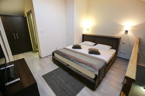 Krevet ili kreveti u jedinici u okviru objekta Hotel Stara Planina