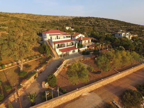 Άποψη από ψηλά του Louiza Apartments