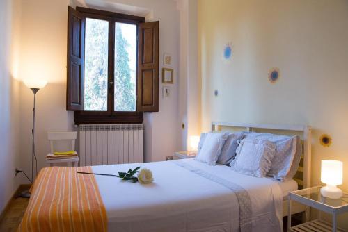 Cama o camas de una habitación en Libertà Maison