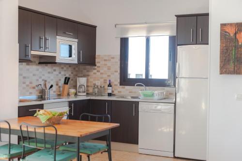 Küche/Küchenzeile in der Unterkunft Oasis de Nazaret