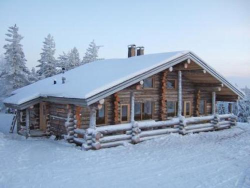 Holiday Home Mäentähti a during the winter