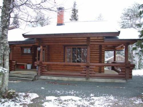 Holiday Home Varilan lomamajat nr2 during the winter