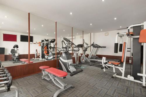 Gimnasio o instalaciones de fitness de Ramada Amritsar