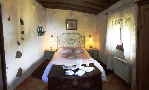 Cama o camas de una habitación en Finca San Pablo Icod de los Vinos
