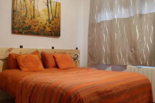 Cama o camas de una habitación en Lovely Loft in the Old City