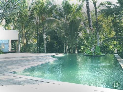 The swimming pool at or near Ubud Tropical