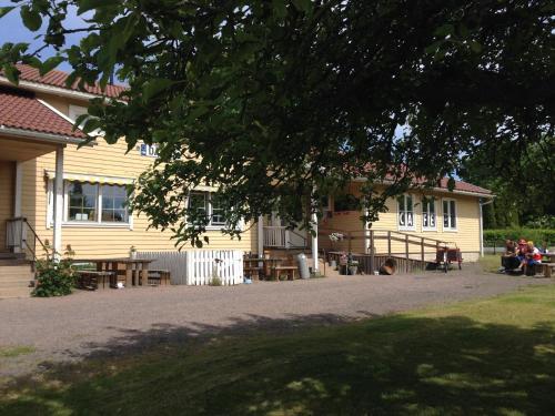 Rakennus, jossa bed & breakfast sijaitsee