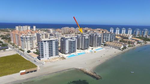 La Manga Beachclub Apartment a vista de pájaro