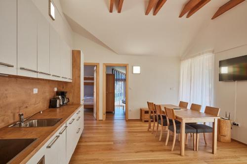 Küche/Küchenzeile in der Unterkunft Aparthotel Kovarna Residence