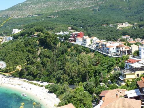 Άποψη από ψηλά του Palatino Hotel