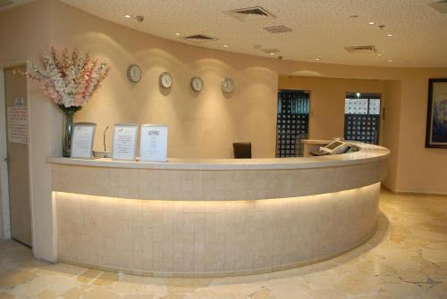 Vstupní hala nebo recepce v ubytování Adi Hotel