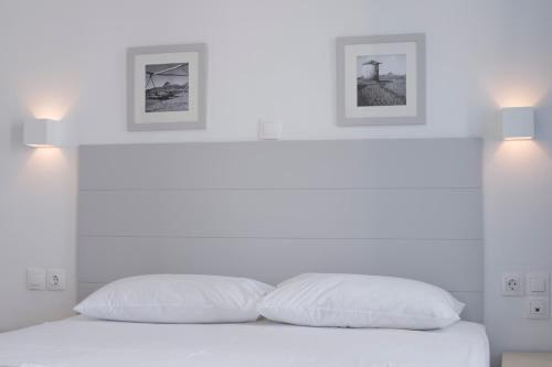 Ένα ή περισσότερα κρεβάτια σε δωμάτιο στο Almyra Guesthouse