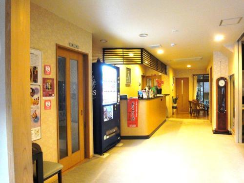 The lobby or reception area at Ryokan Kyoraku