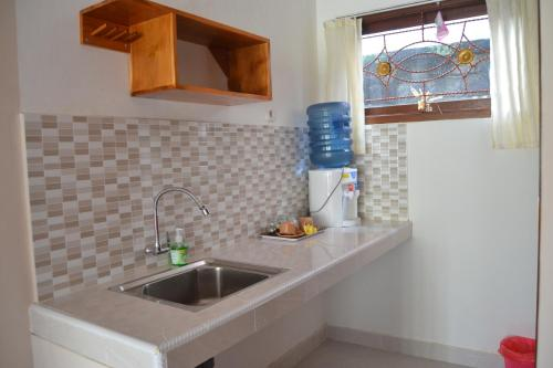 Küche/Küchenzeile in der Unterkunft Sakha House