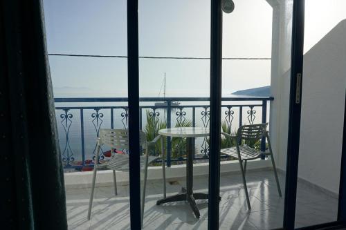 Μπαλκόνι ή βεράντα στο Hotel Eleni Beach