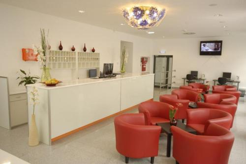 Lounge oder Bar in der Unterkunft Hotel City Residence