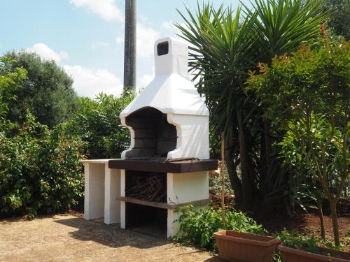 Attrezzature per barbecue disponibili per gli ospiti della casa vacanze