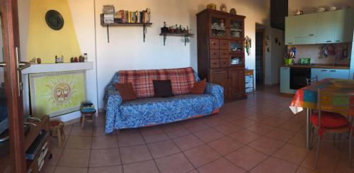 Area soggiorno di Casetta Di Tata