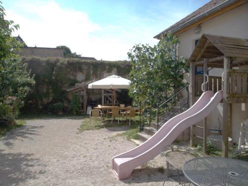 Children's play area at Les Trois Croix