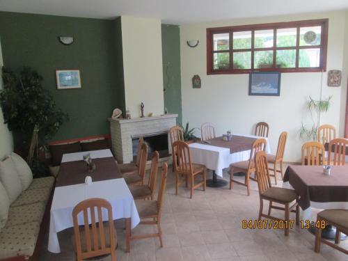 Ресторант или друго място за хранене в Семеен Хотел Рибарската Хижа