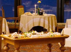 Ein Restaurant oder anderes Speiselokal in der Unterkunft Pedro's