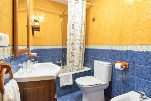 Un baño de Apartamentos Blanca Senda del Oso