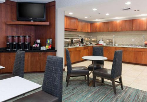A restaurant or other place to eat at Residence Inn Baton Rouge Towne Center at Cedar Lodge