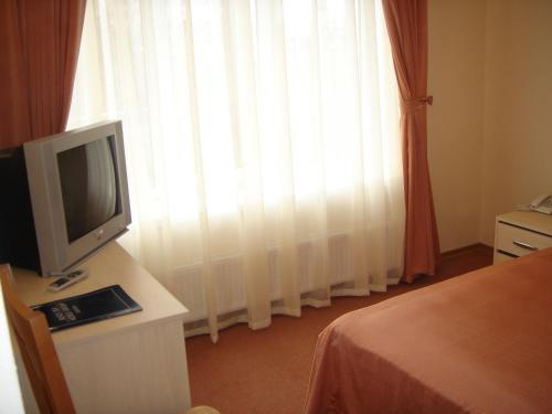 A television and/or entertainment center at Black Sea Rozdil'na